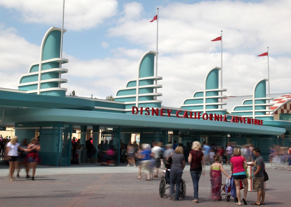 De nieuwe entree van Disney California Adventure - Foto: © Paul Hiffmeyer / Disney
