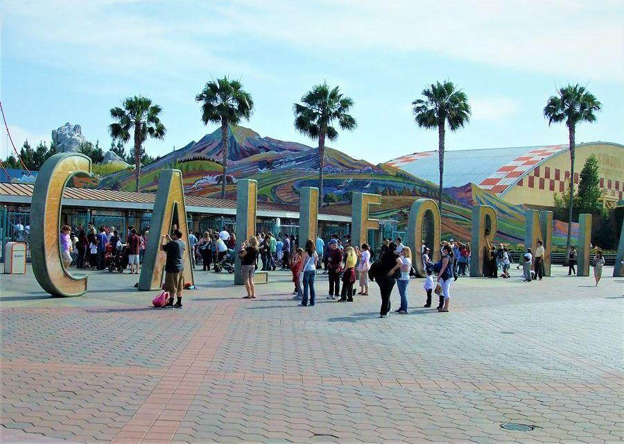 De oude entree van Disney California Adventure - Foto: © Adri van Esch
