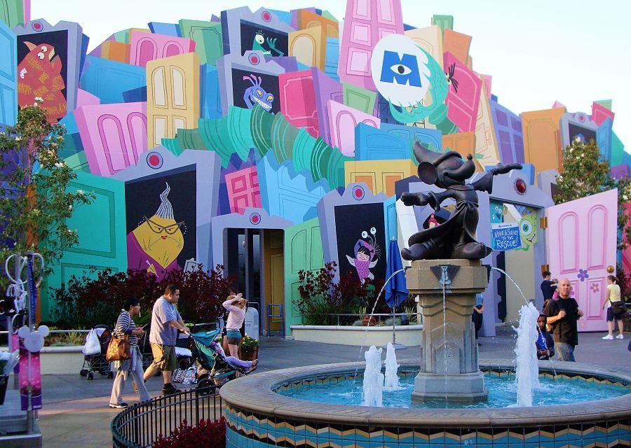 Monsters Inc. in Disney California Adventure - Foto: © Adri van Esch