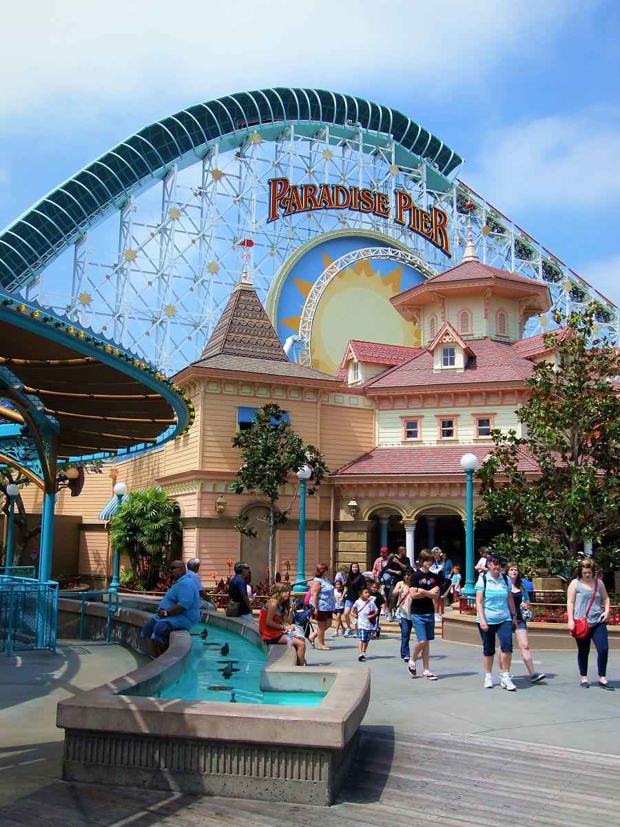 Paradise Pier - nu Pixar Pier - in Disney California Adventure - Foto: © Adri van Esch