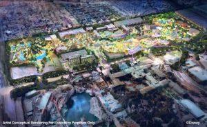De plannen voor Disneyland Forward - Beeld: © Disney
