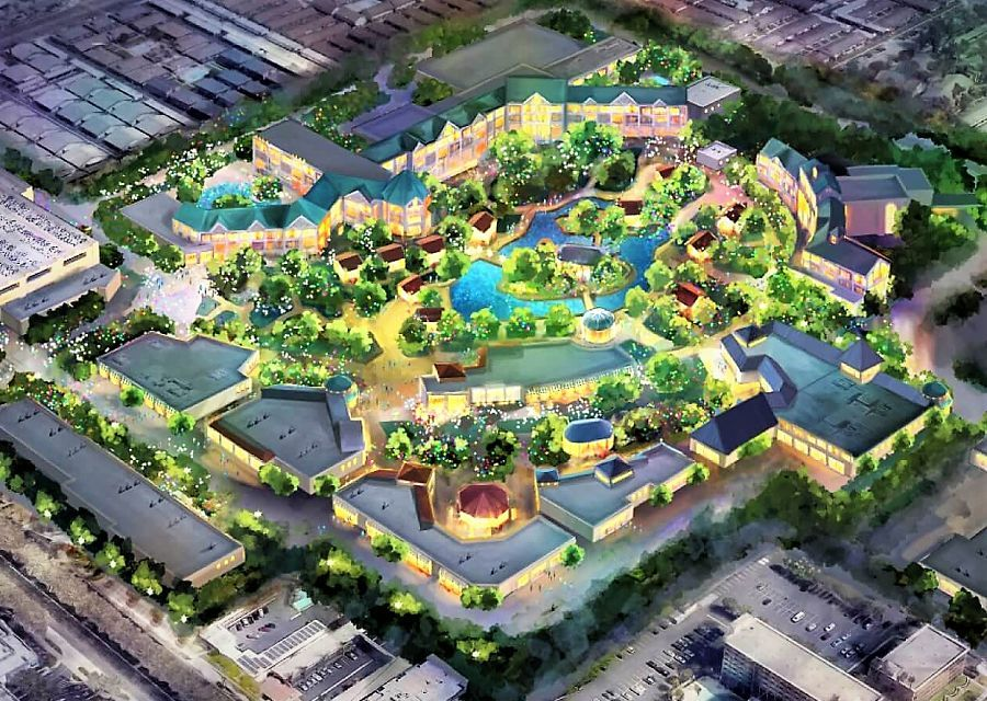 De plannen voor Disneyland Forward op de Toy Story Parking - Beeld: © Disney