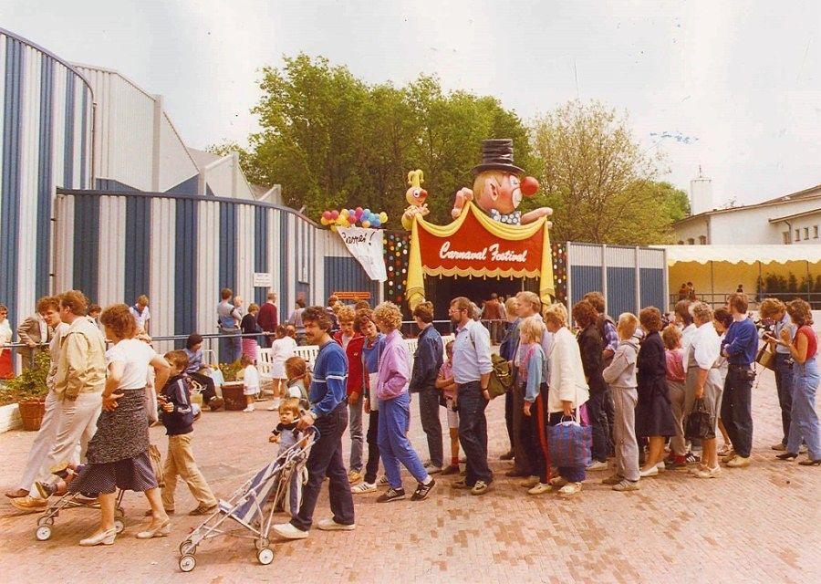 In 1984 opent Carnaval Festival in de Efteling
