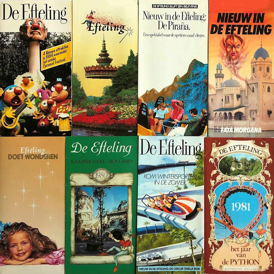 Efteling-folders uit de jaren 80 - Foto: © Adri van Esch
