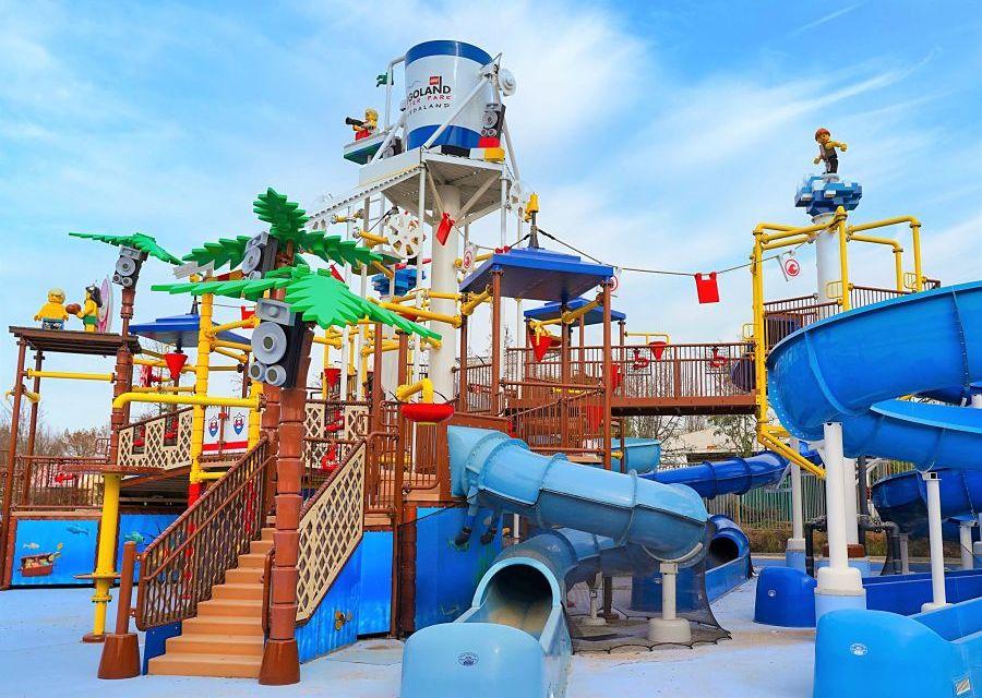 Beach Party in Legoland Waterpark bij Gardaland