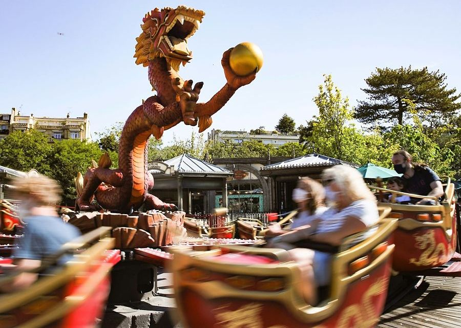 Les Gondoles in de Jardin d'Acclimatation in Parijs - Foto: Sylvain Bachelot