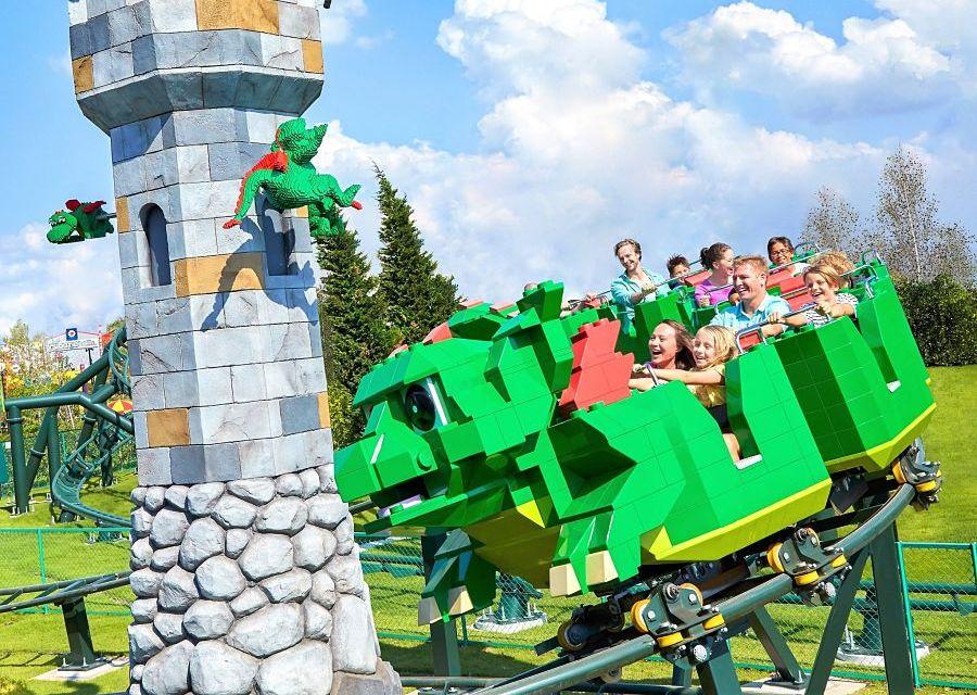 Dragon's apprentice junior in Legoland