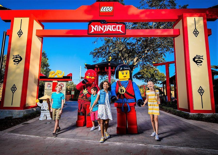 Ninjago World in Legoland