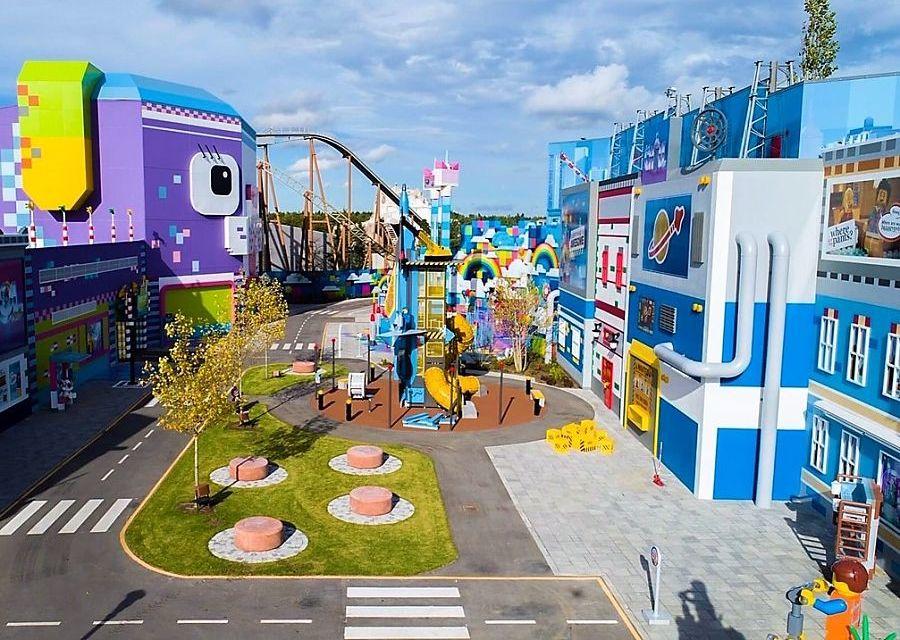 The Lego Movie World in Legoland Billund
