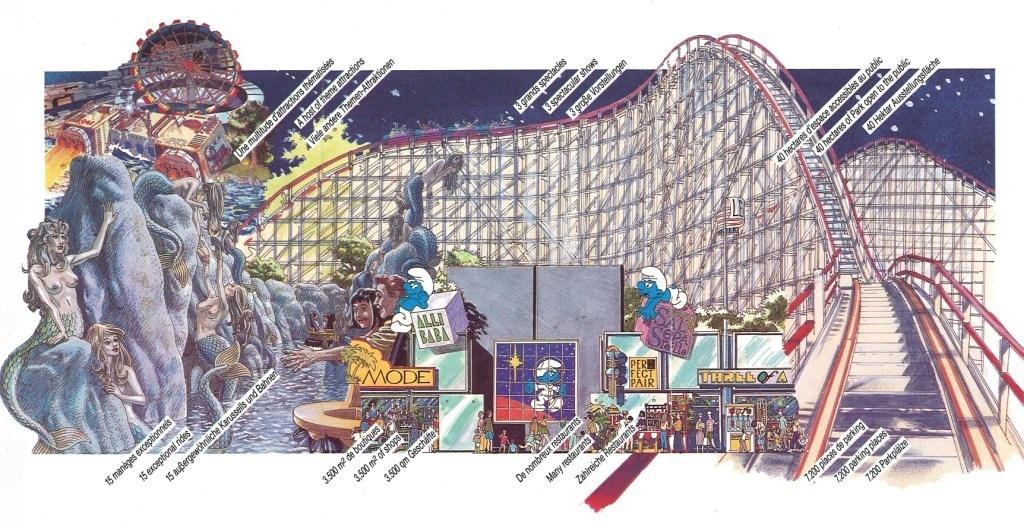 Reclame voor Big Bang Schtroumpf (1989)